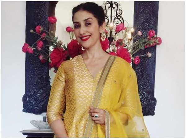 Manisha Koirala reveals her favourite film - Times of India