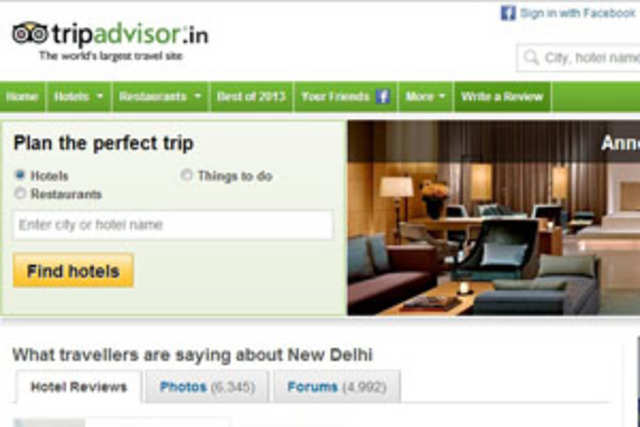 Travel and tourism website TripAdvisor today announced the winners of its 2013 Travellers' Choice awards for hotels.