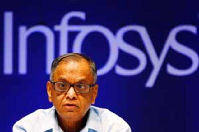 The stock markets have given Infosys the thumbs up ever since Murthy took charge, but it still has some catching up to do with TCS.