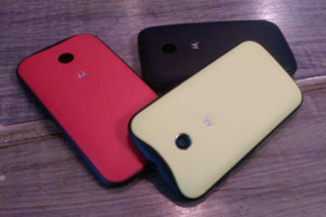 Motorola has entered the budget market with Moto E, which has a 4.3-inch qHD display, 1.2GHz dual-core processor and 1GB RAM, at Rs 6,999.