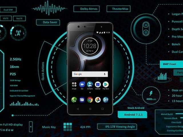 Lenovo K8 Plus with stock Android, dual cameras unveiled