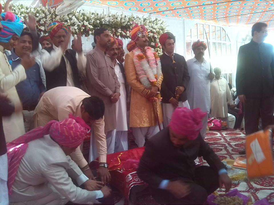 Tika ceremony - Sadaf Aijaz