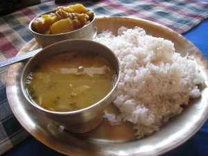 Nepalese Dal-Bhat