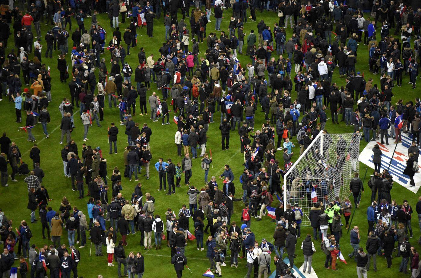 Football stadium in Saint-Denis, north of Paris (Photo courtesy: AFP/Franck Fife)