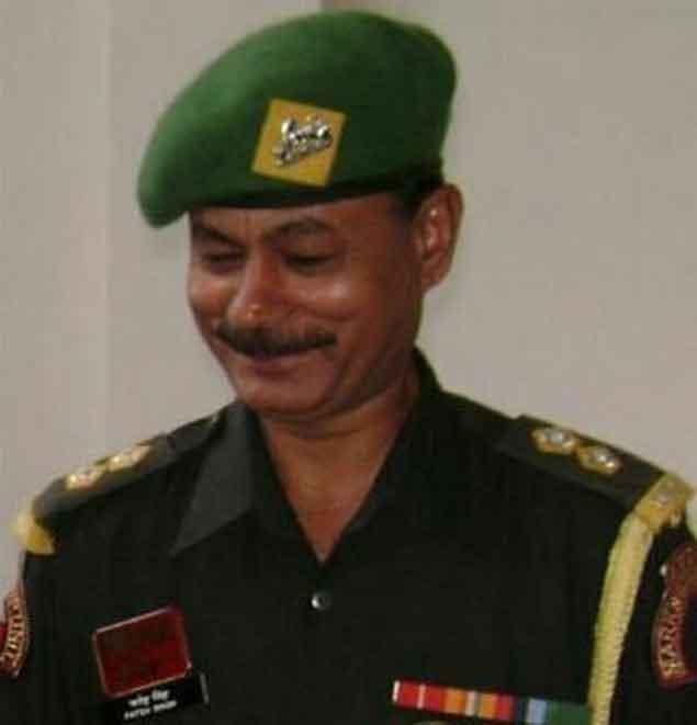 Subedar and honorary captain Fateh Singh