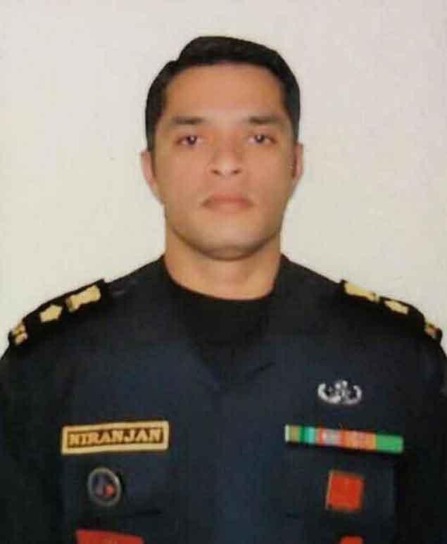 Lt Col Niranjan E Kumar
