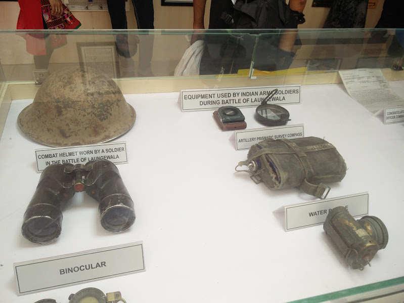 Longewala equipment