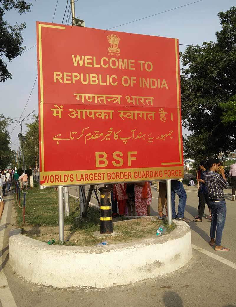 Retreat blog - Welcome to India board Attari