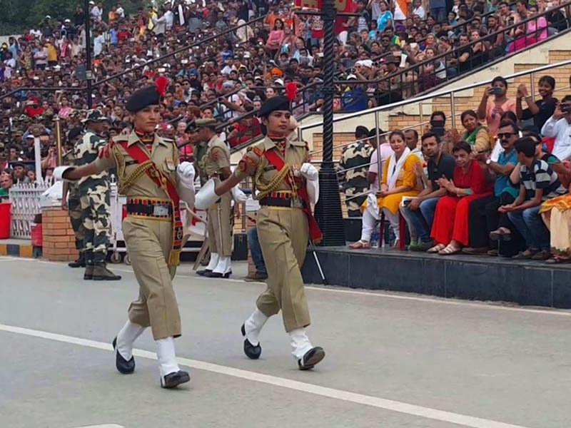 Women Blog - BSF Women Constables Marching Attari