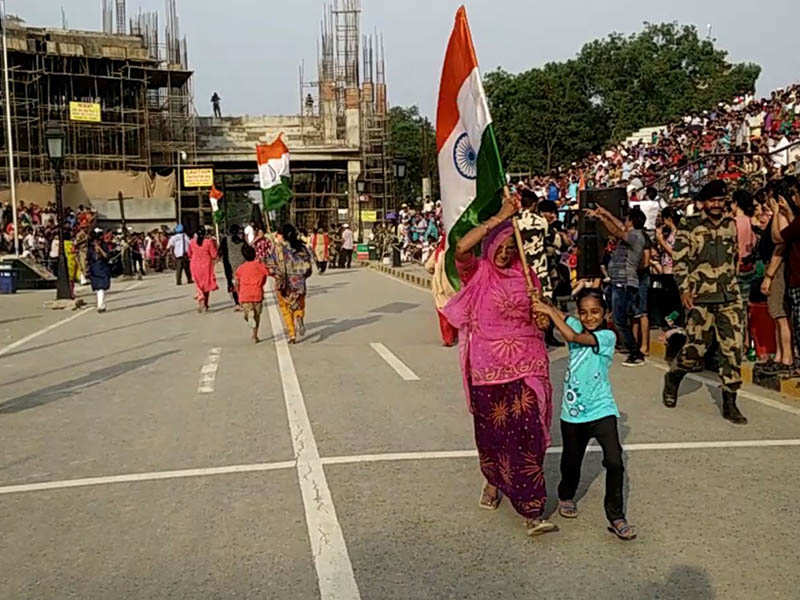 Women Blog - Womens flag runs at Attari