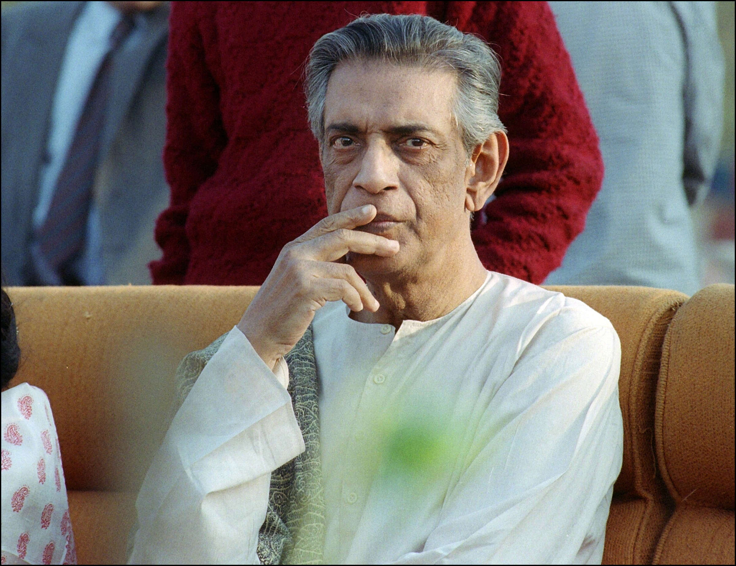 Portrait taken 02 February 1989 in Calcutta of the