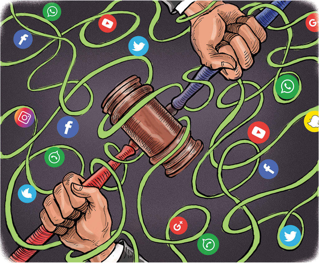 Big tech, big government: Courts having a hard time balancing privacy with traceability, but don't forget individual rights