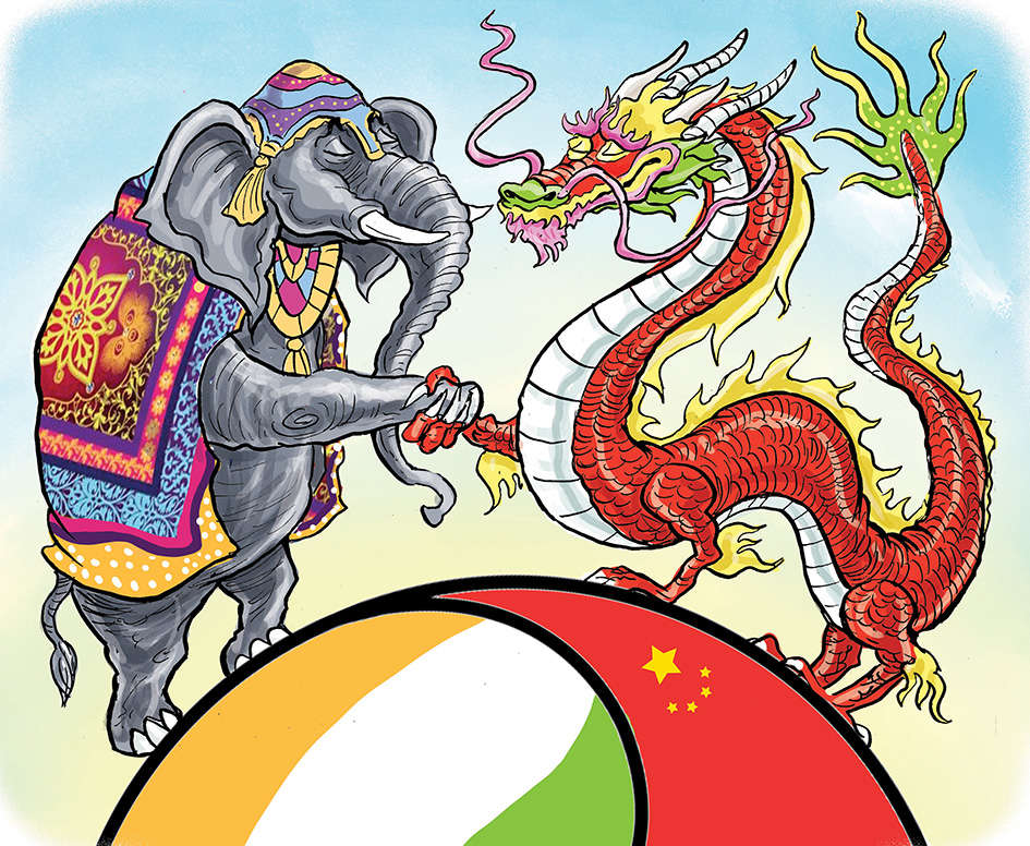 A seven decades journey: Charting a new course for the dragon-elephant tango
