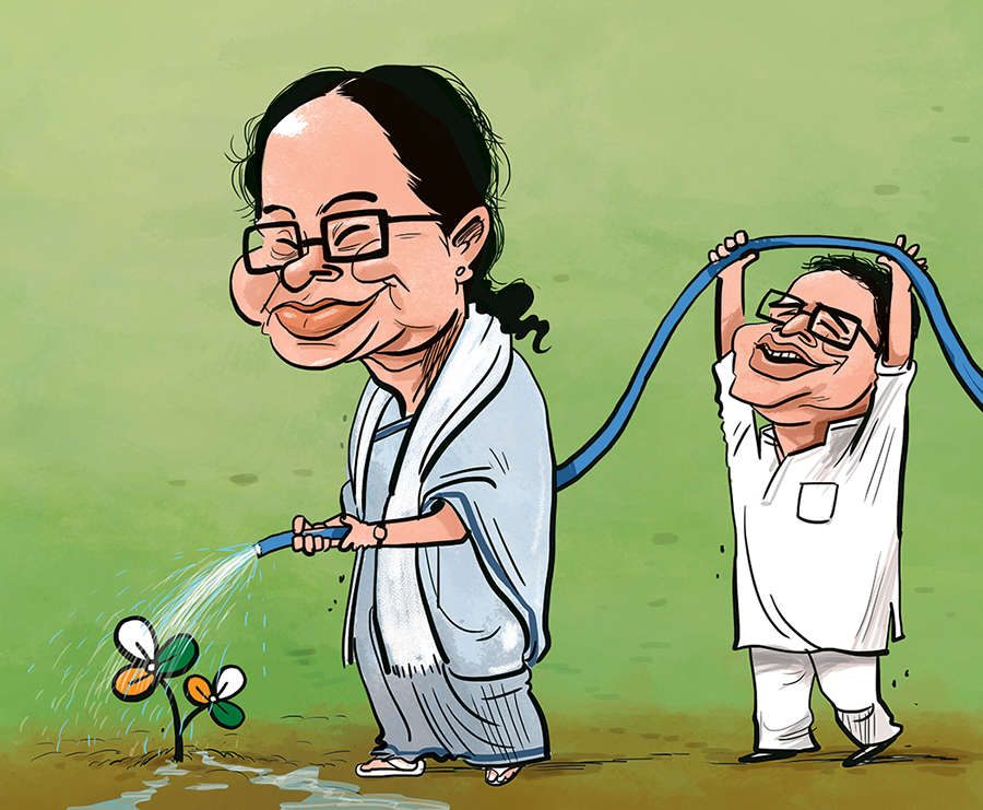 Trinamool fortress stands: How Mamata managed to withstand the siege laid to her citadel by BJP