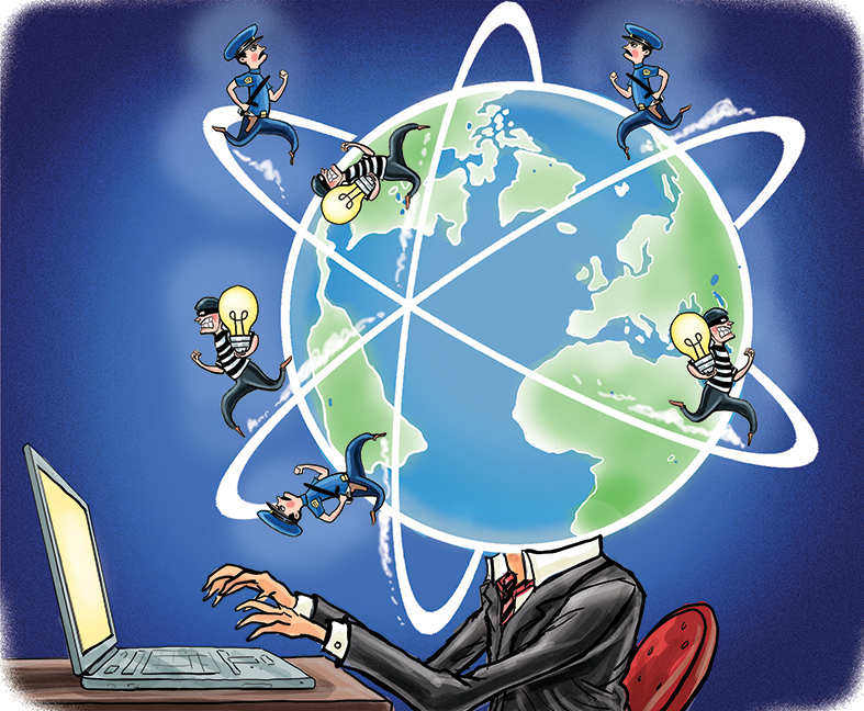 Power's new dimension: No rules of the road protect cyberspace, where we live our lives today