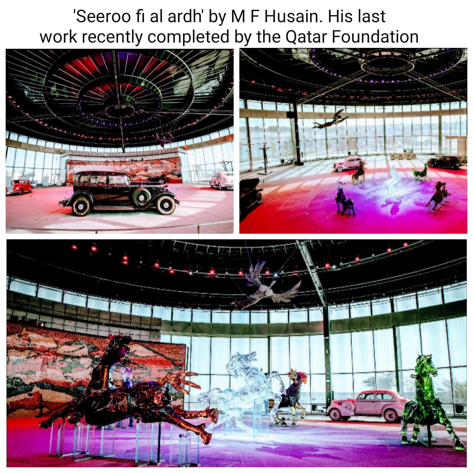 MF Hussain's final hurrah