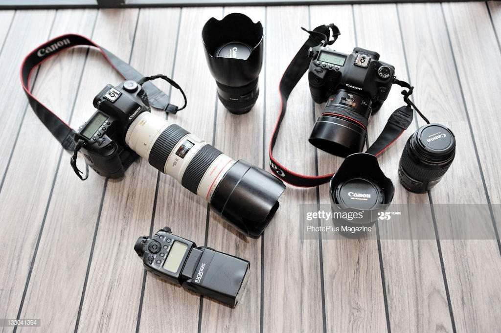 Wedding Photography Equipments