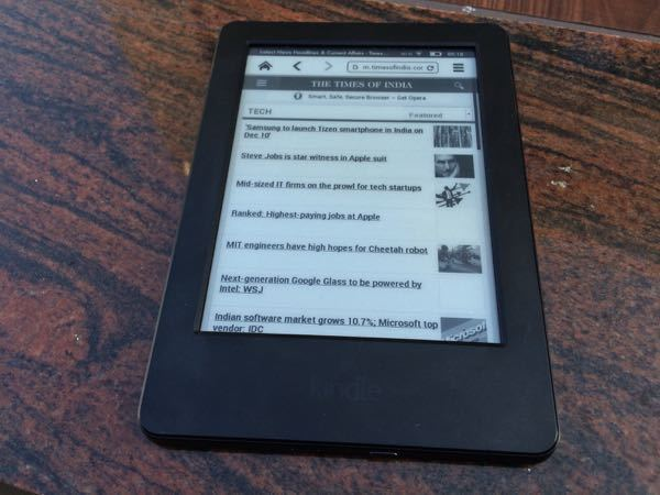 Amazon Kindle 7th Generation Review Touch Goes Affordable Gadgets Now