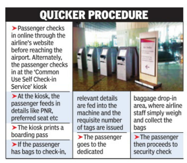 Now Print Your Baggage Tags At Mumbai Airport S New Self Check In