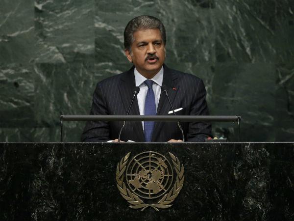 Anand Mahindra UNGA Reuters
