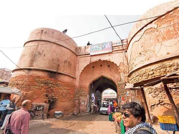 The gate of the Farrukhnagar fort