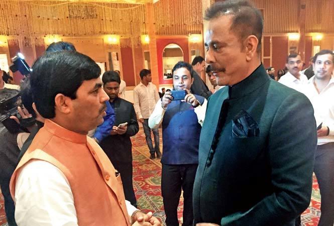 Shahnawaz Hussain and Subrata Roy Sahara (BCCL)
