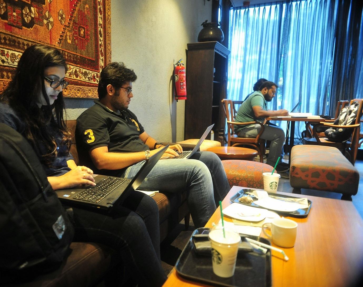 coworking kormangala starbucks