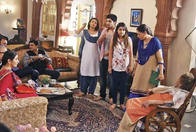 The cast of 'Zindagi Ki Mahek' shoots in Chandni Chowk (BCCL)