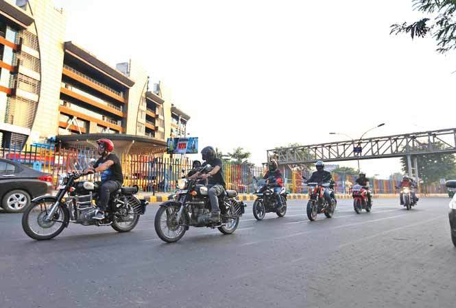 Bikers' day out in Gurgaon | Gurgaon News - Times of India