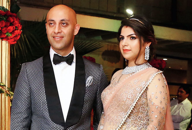 THE NEWLY WEDS: Rohan and Ritika (BCCL)