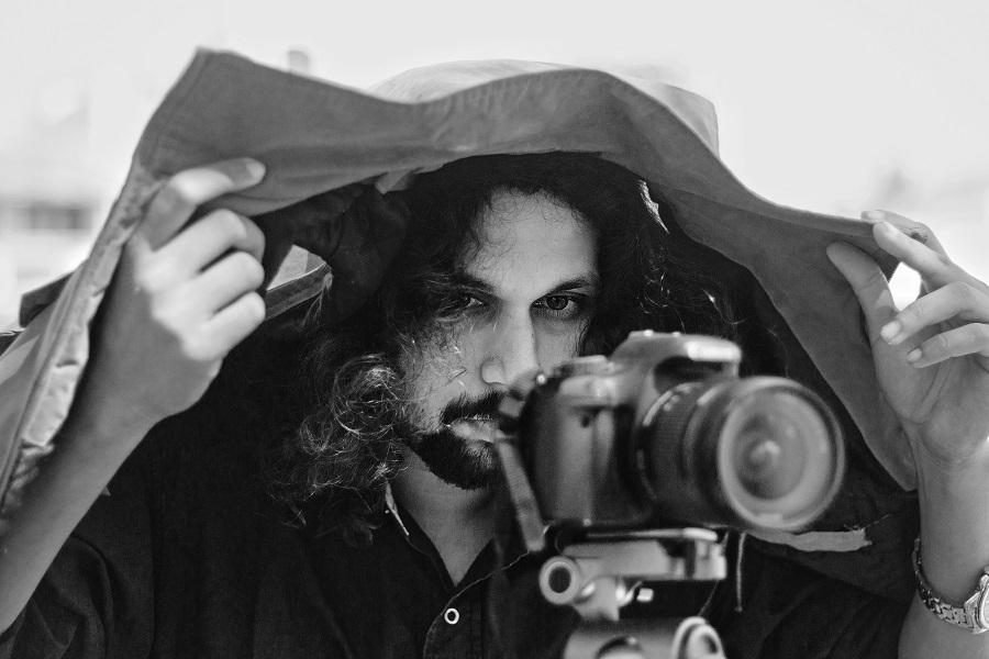 Amartya_Bhattacharyya_during_shoot