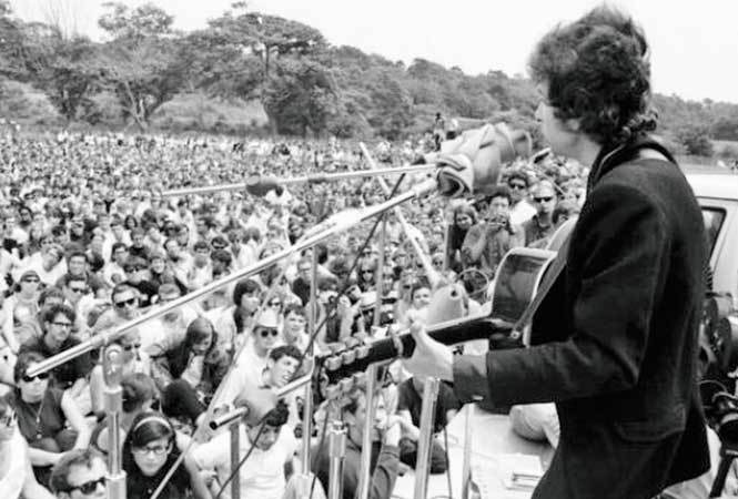 At Jamia, students are taught how Dylan's songs were used almost as anthems during the American CIvil Rights movement in the 60s
