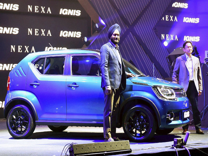 Ignis Maruti Suzuki Launches Ignis At Rs 4 59 Lakh Times Of India