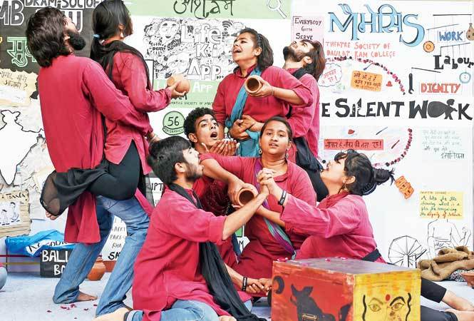 Kaalkothri By The Students Of Shivaji Colleges Vayam Which Highlighted Condition Prostitutes