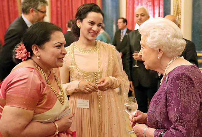 queen: Anoushka Shankar : The Queen had some lovely ...