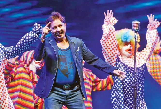 Mera Naam Joker: Sukhwinder Singh launched Oorja's anthem at the event (BCCL)