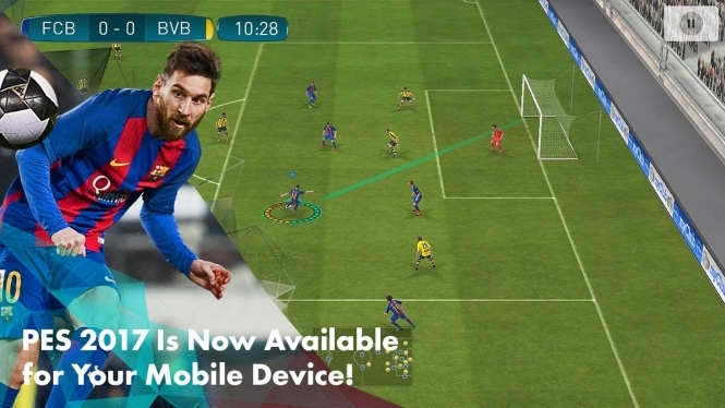 PES 2017 game reaches Android and iOS devices - Gaming News
