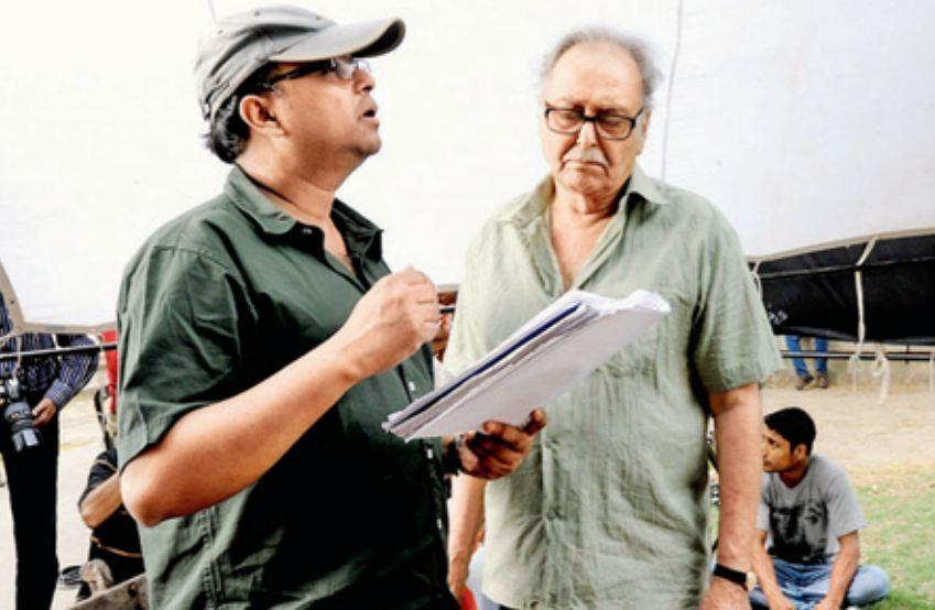 Soumitra with Atanu Ghosh 1