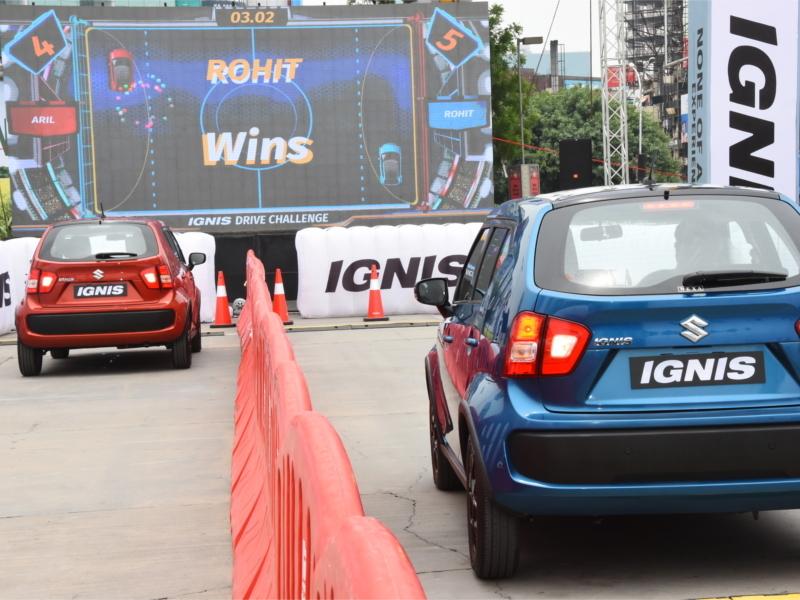 Maruti Suzuki Ignis test drive