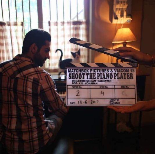 Ayushmann Khurana in Shoot The Piano Player. Photo by: @ayushmannk/Instagram