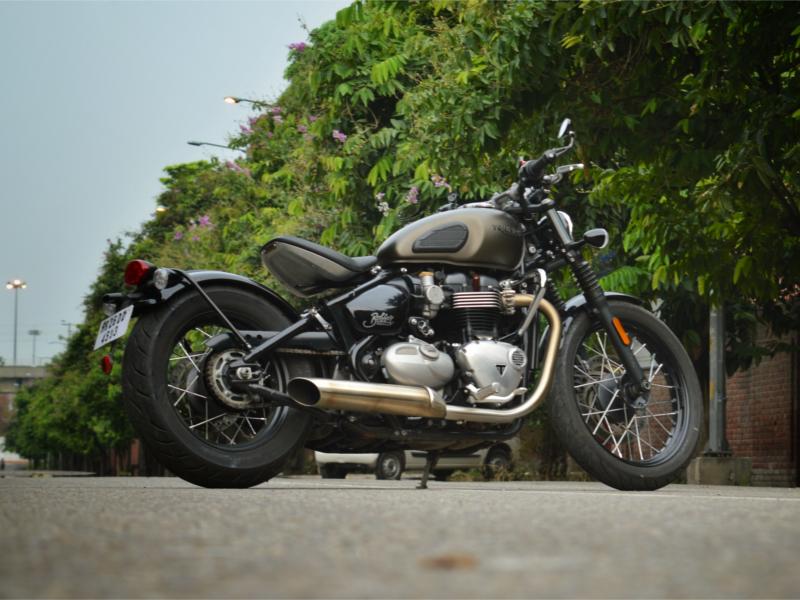 Bonneville: Triumph Bonneville Bobber Review: A British bike in