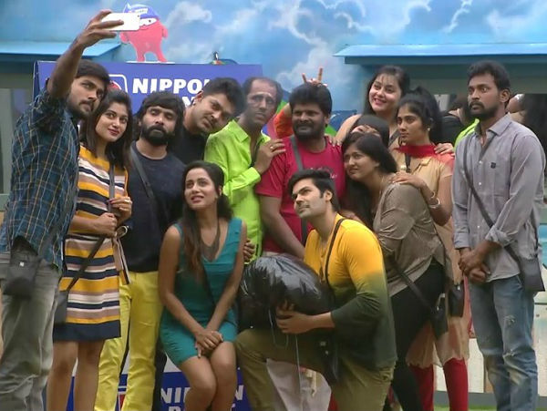 On Day  The Housemates Of Bigg Boss Tamil Are In For A Shock Reason Ganja Karuppu Is Eliminated From The House It Looks Like None Of Them Expected The
