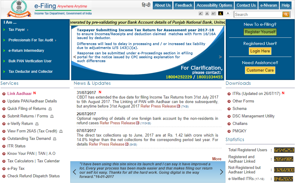 Income Tax eFiling: E-file your ITR in 10 easy steps | Business News ...