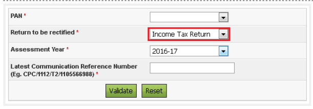 Income Tax Rectification How To Revise Your Income Tax Return Itr