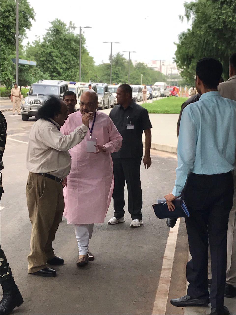 Amit Shah at at State Legislative Assembly
