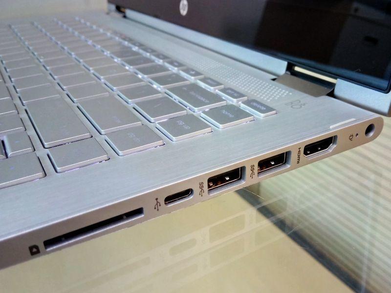 HP Pavilion x360 14-ba073TX (2FK60PA) Laptop (Core i5 7th