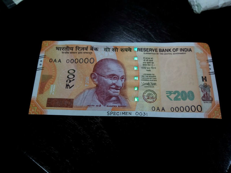 200 rupees note: RBI to issue new Rs 200 note on Friday | India