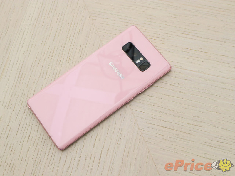 Samsung launches Pink Galaxy Note 8 in Taiwan - Latest News