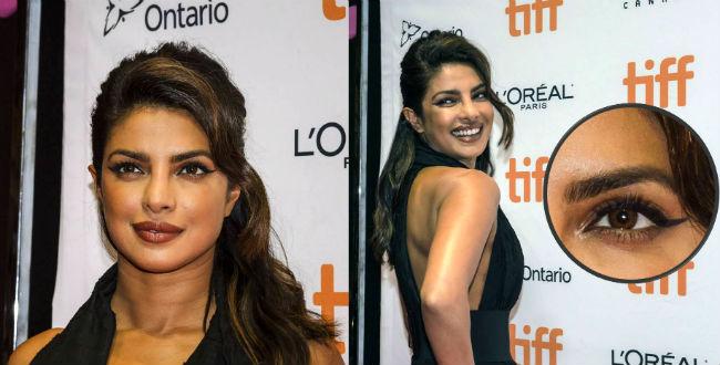 Priyanka Chopra makeup TIFF 2017