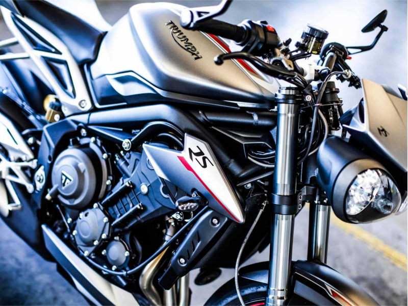 Triumph Street Triple New Triumph Street Triple Rs Launched In India